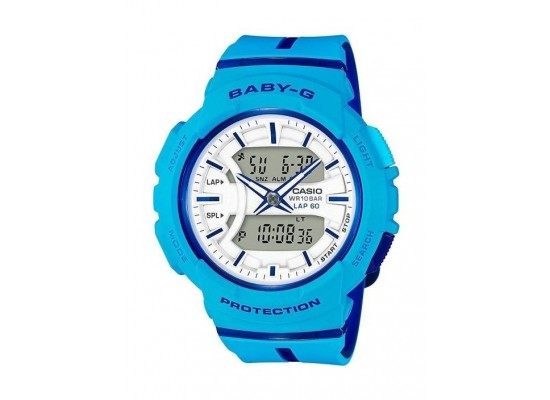 Casio Baby-G Analog-Digital White Dial Women s Sport Watch (BGA-240L-2A2DR)   d4e0056ffdf8