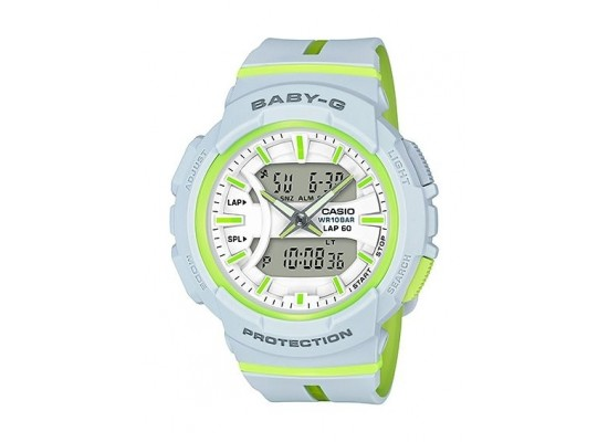 0de3da80a03 Casio Baby-G Analog-Digital White Dial Women s Watch - (BGA-240L-7ADR)
