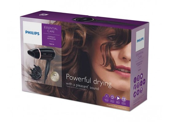 Philips BHD004/03 Essential Care Hairdryer 1800W