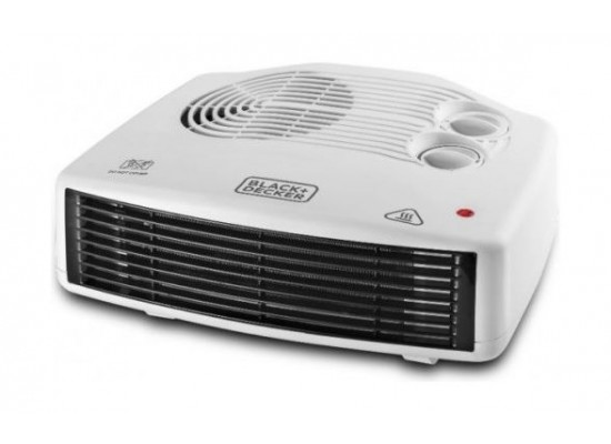Black & Decker 2400W Horizontal Fan Heater (HX230)