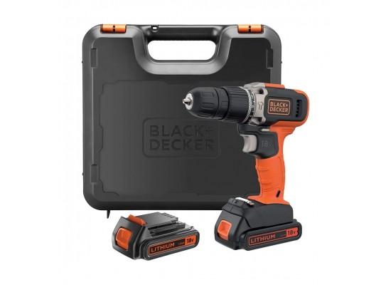 Black+Decker BCD003C2K-GB 18V Combi Drill