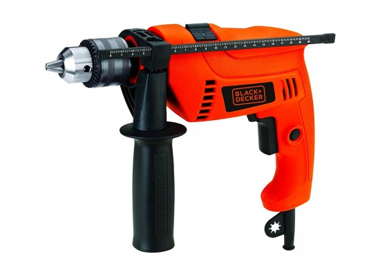 Black+Decker Hammer Drill 650W Kit - (HD650KIT-B5)