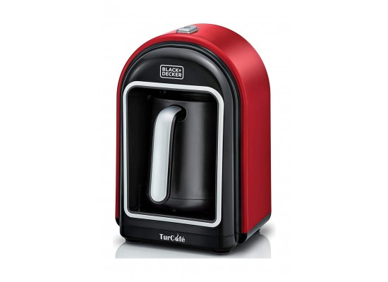 Black+Decker OptiSense 735W Turkish Coffee Maker (TCM700-B5) - Red