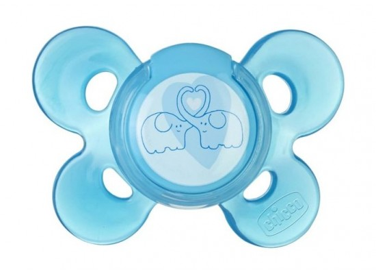 Chicco 1Pc Physio Comfort Soother Case (125N) - Blue