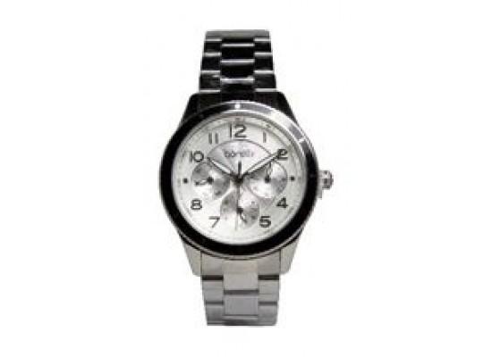 Borelli BMF20047670 Ladies Analog Watch - Metal Strap – Silver