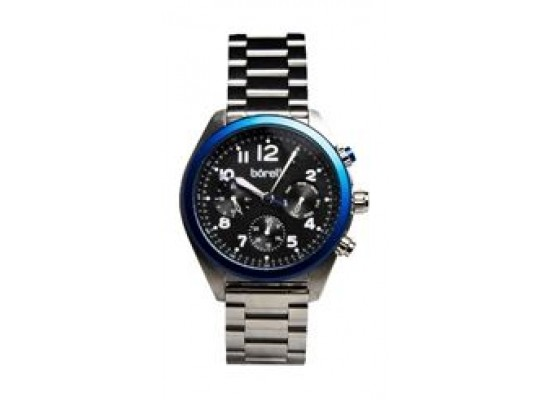Borelli BMS20045959 Gents Chronograph Watch - Metal Strap – Silver