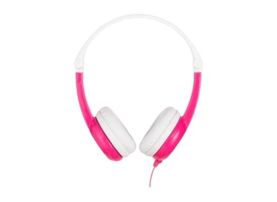 BuddyPhones Connect Wired Kids Pink Headphones in Kuwait | Buy Online – Xcite
