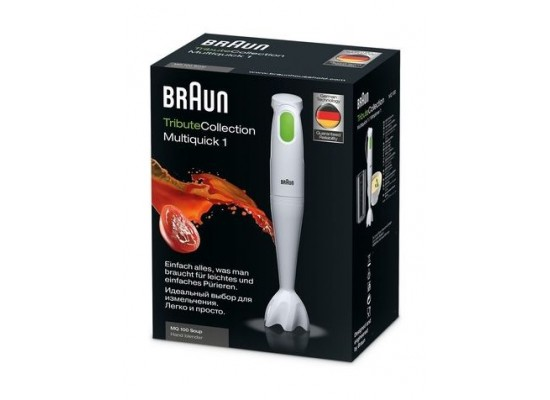Braun MultiQuick 450w Hand Blender with 600ml Beaker - White MQ100