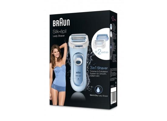 Braun Silk-épil 5160 Wet & Dry Electric Shaver Lady Shaver