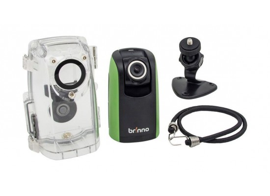 Brinno BCC100 1.44-inch Camcorder Green & Black - Front View