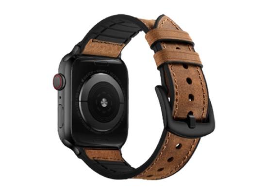 EQ Apple Watch Band Size 42/44MM (OCT 1004) - Dark Brown