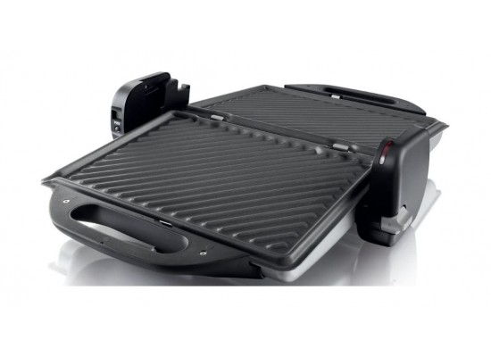 Philips 2000 W Health Grill (HD4467/91) – Black / Silver