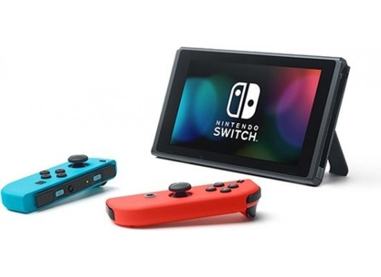 Nintendo Switch Portable Gaming System - Blue/Red + Just Dance 2019 Nintendo Switch Game