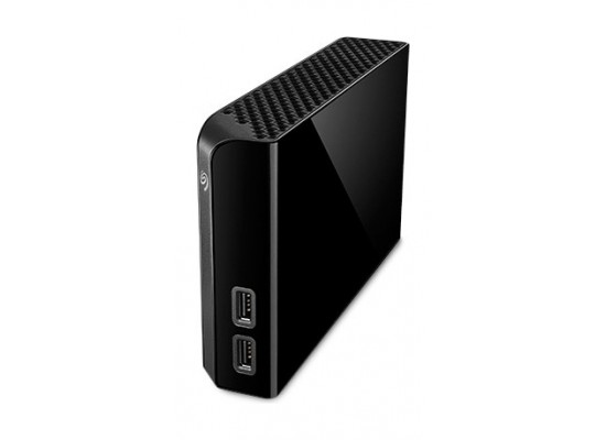 Seagate Backup Plus Hub 6TB External Hard Drive Desktop HDD - Black