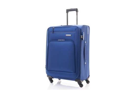 American Tourister Brook Spinner Soft Luggage 55cm - Navy