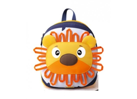 American Tourister Woodle Kids School Bag - Yellow Lion