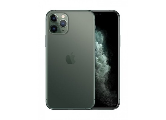 Apple iPhone 11 Pro Max (256GB) Phone - Midnight Green