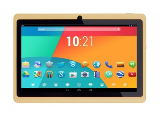 Atouch 7 Inch 8GB WiFi Only Tablet - Gold