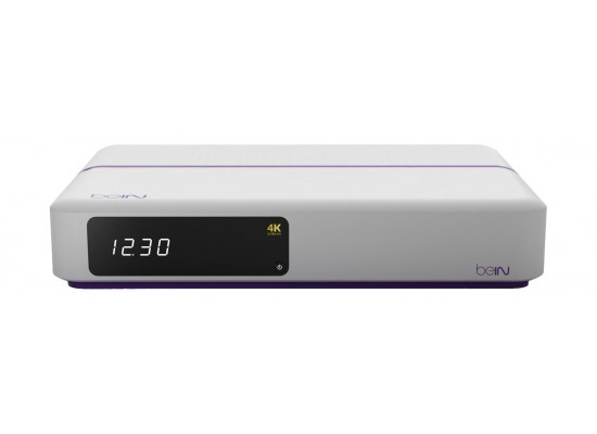 BeIN 4K Ultra HD Advanced Satellite Receiver Type 4 + 1 Year Top Sports Subscription
