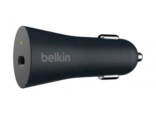 Belkin Boost Charge USB-C Car Charger - Black