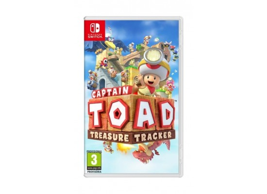 Captain Toad Treasure Tracker: Nintendo Switch Game