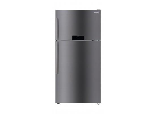 Daewoo 28 CFT Top Mount Refrigerator (FN-G795NTIS) - Silver