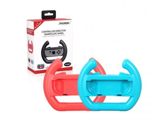 Dobe Nintendo Switch 2-Controllers Steering Wheel - TNS-852S