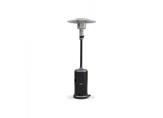 Wansa Steel Patio Heater 13.5 W (W-1207) - Black