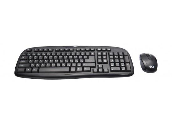 EQ Wirelss Mouse & Keyboard Combo