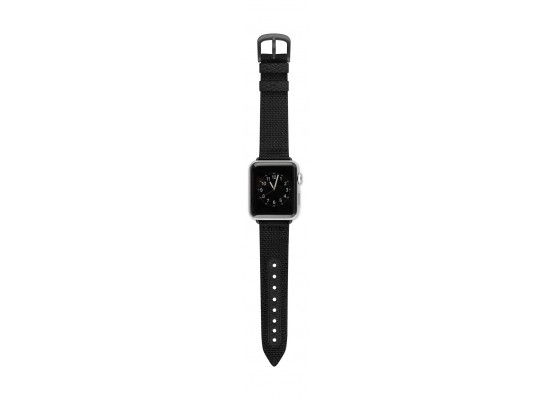 Evutec Northill Watch Band for Apple Watch 38mm - Black/Black