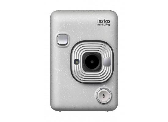 Fujifilm Instax Mini LiPlay Camera - Stone White 3
