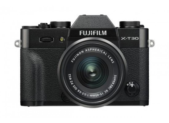 Fujifilm X-T30 Mirrorless Camera + 15-45mm Lens - Black 2
