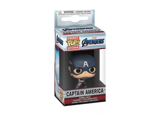 Funko Pop Keychain: Avengers End Game Captain America 2