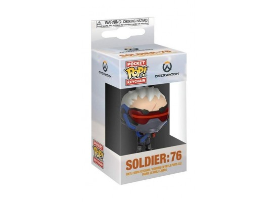 Funko Pop Keychain: Overwatch Soldier 76 2