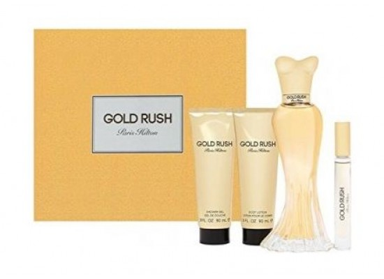 Gold Rush Gift Set by Paris Hilton For Women Eau de Parfum