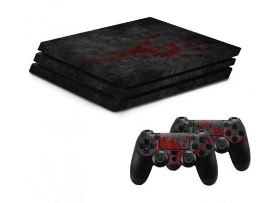 Hama Design Sticker for PS4 Pro - Undead