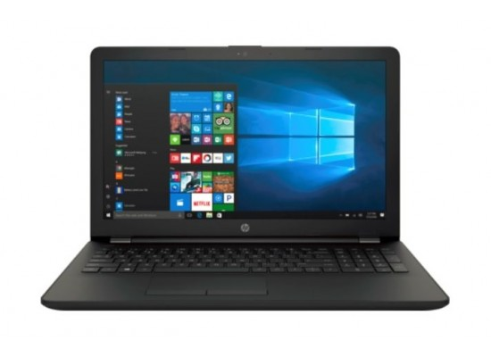HP Core i3 4GB RAM 500GB HDD 15.6-inch Laptop (15-BS154NE) - Jet Black