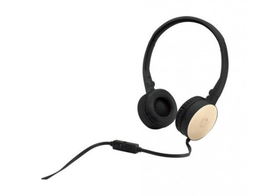 HP Stereo Headset H2800 - Black Gold