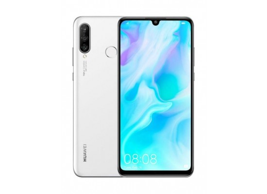 Huawei P30 Lite 128GB Phone - White 3