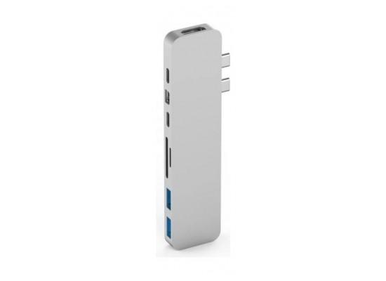 HyperDrive PRO 8-in-2 USB-C Hub  - Silver