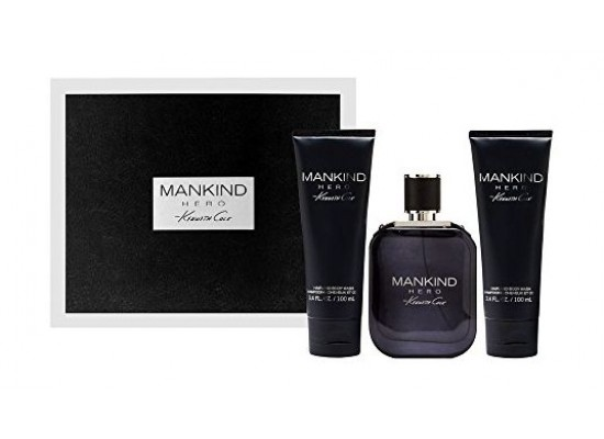 Mankind Hero Gift Set by Kenneth Cole Mens Perfume Eau de Toilette