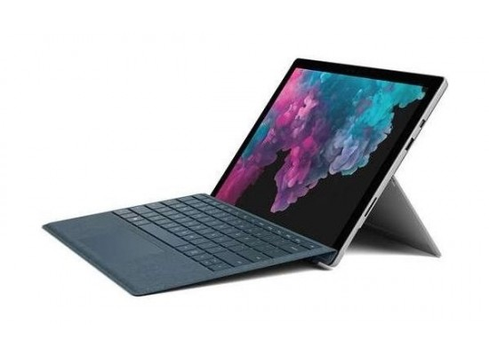 Microsoft Surface Pro 6 Core i7 8GB RAM 256B SSD 12.3 Touchscreen Laptop - Platinum 1