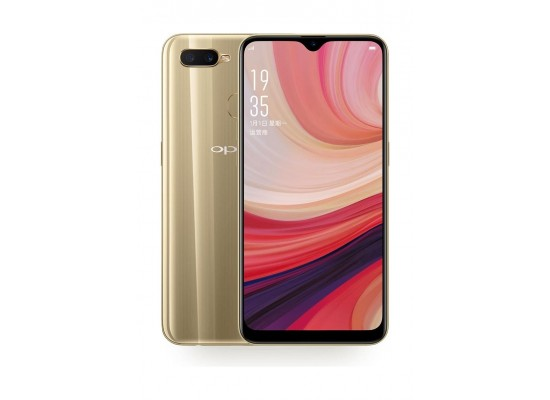 Oppo A7 64GB Phone - Gold