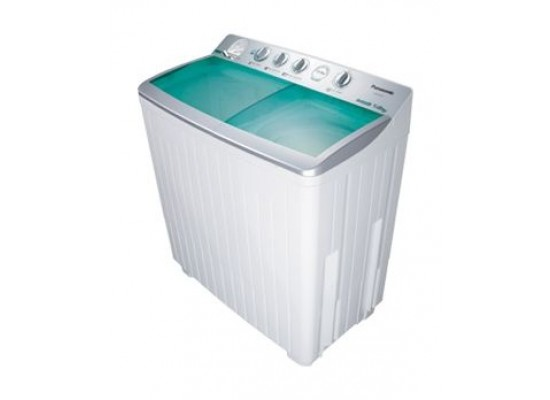 Panasonic 13kg Twin Tub Washing Machine (NA-W1300TLRW) - White