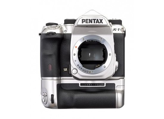 Pentax K-1 36.4MP Full-Frame Digital Camera - Limited Silver