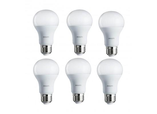 Philips 7W Warm White LED Bulbs 6pcs