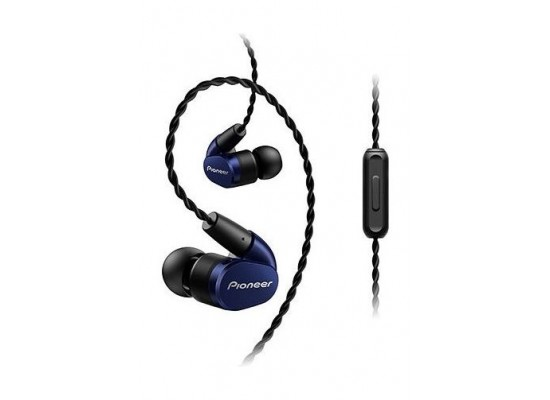 Pioneer Tangle Resistant Premium In-Ear Wired Earphones (SE-CH5T) - Blue
