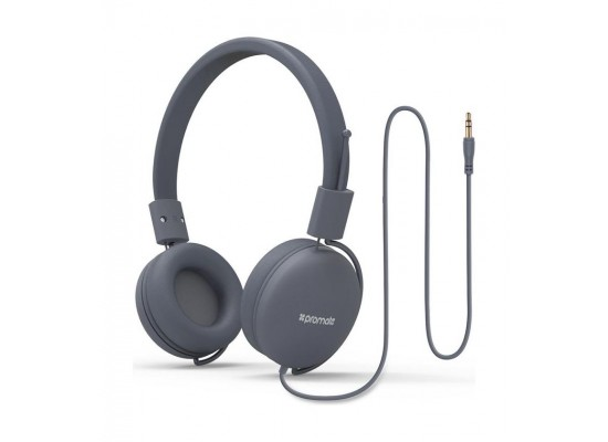 e016b0890d5 Promate Lightweight Supra-Aural Stereo Wired Headset | Promate ...