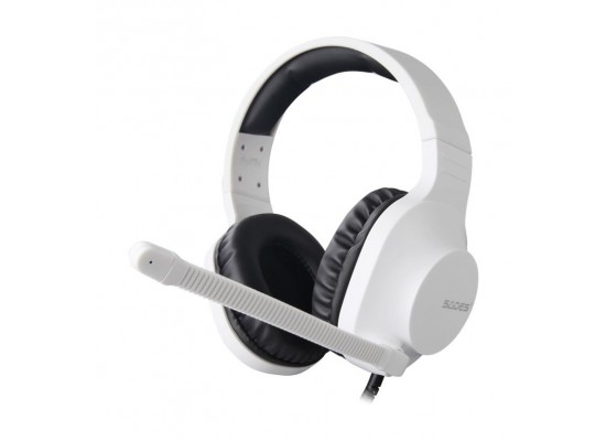 Sades Spirits Wired Gaming Headset - White 2