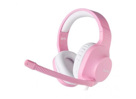 Sades Spirits Wired Gaming Headset - Pink 2